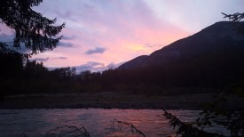 Bella Coola Sunset