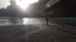Sun & Rain on the Bella Coola River