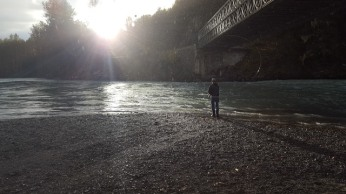 Sun & Rain on the Bella Coola River