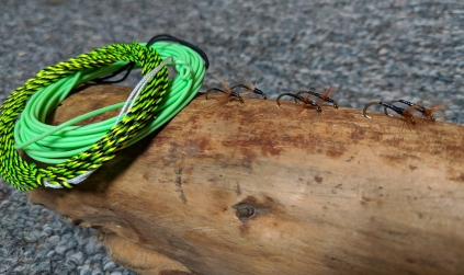 Furled line, fly line and the 3 hackles of tenkara flies
