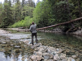 Fly fishing the hike-in, backcountry streams