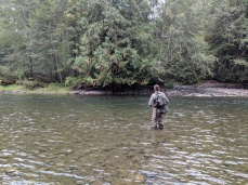 Dead drifting for rainbow trout